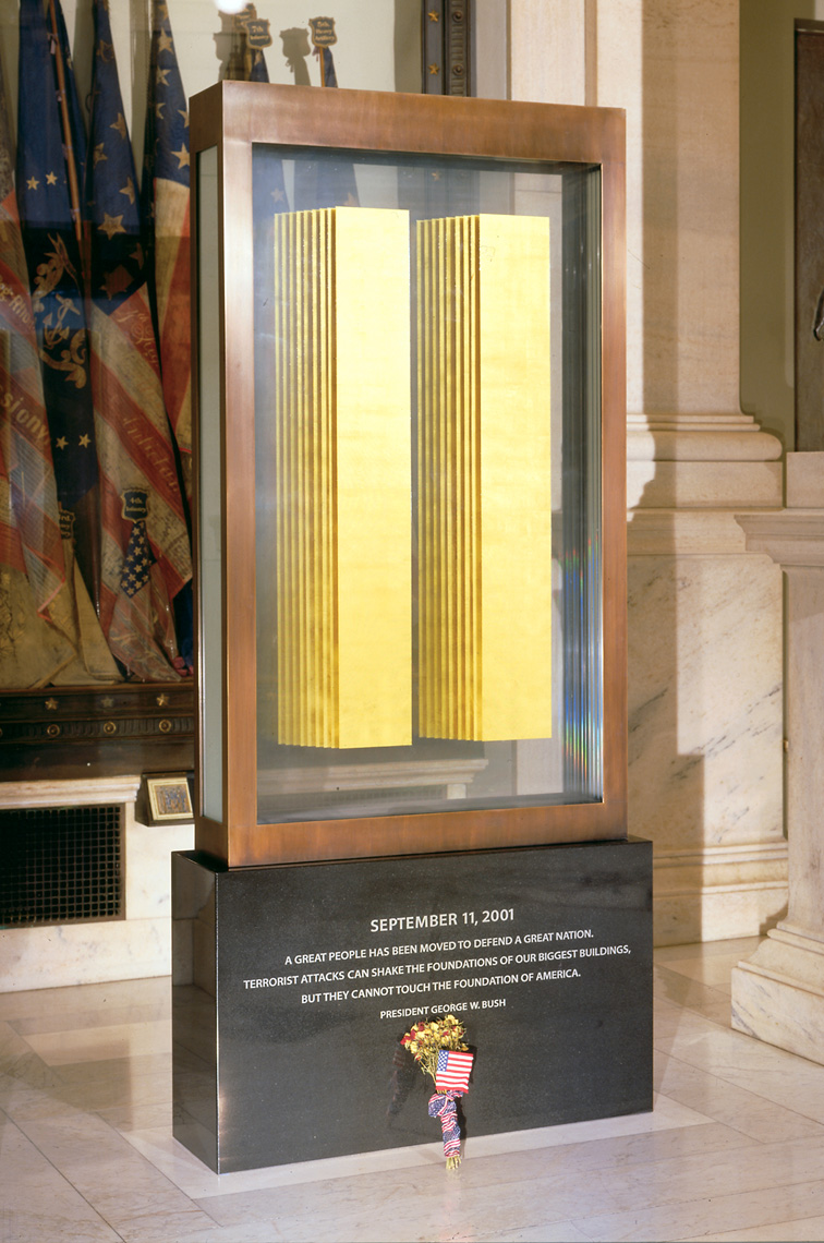 The 9/11 Memorial by Peter Diepenbrock for the Rhode island State  House