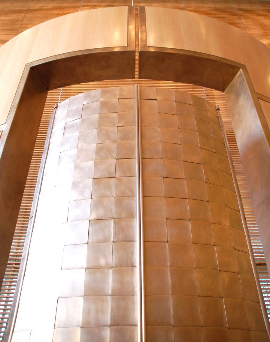 The Ark Doors by Peter Diepenbrock for Temple Beth Elohim