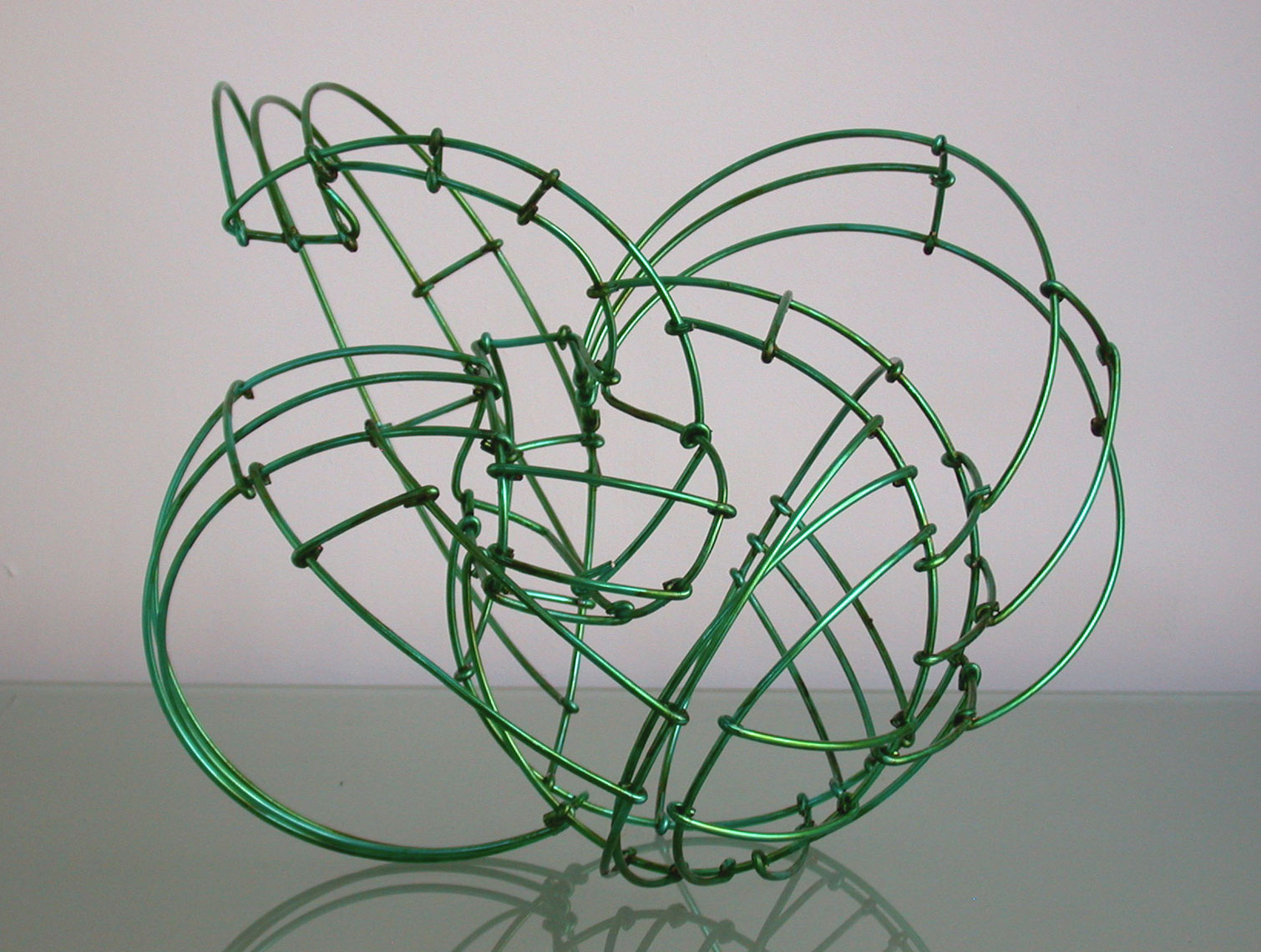 Green-wire-study by Peter Diepenbrock