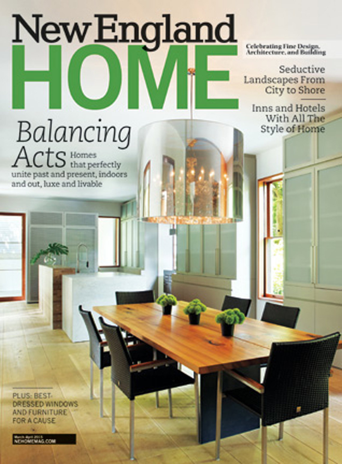 New England Home Feature article on Peter Diepenbrock