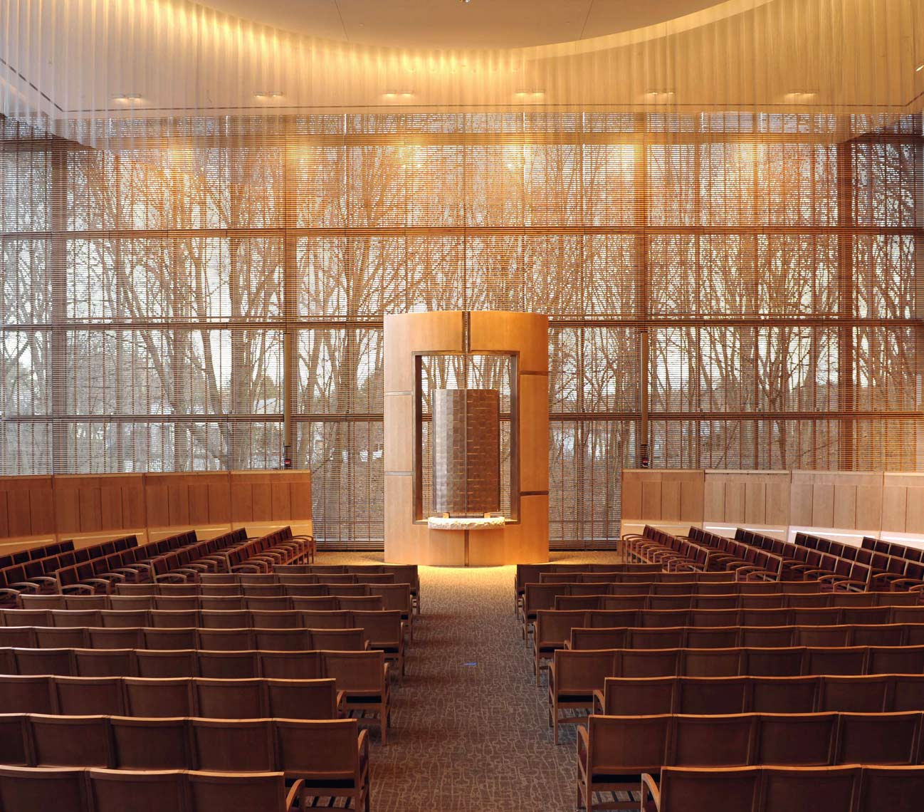 The Ark by Peter Diepenbrock for the Sanctuary at The Temple Beth Elohim
