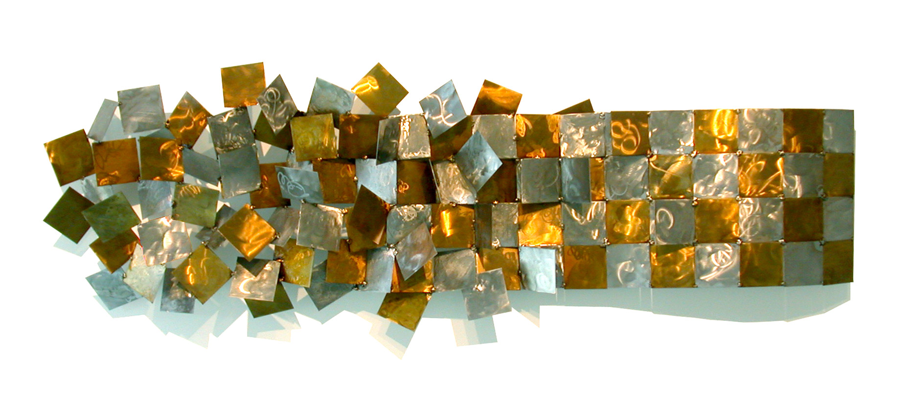 Chaos To Order Sculptural wall Piece by Peter Diepenbrock